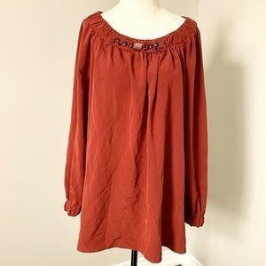Simply Vera Vera Wang Long Sleeve Blouse